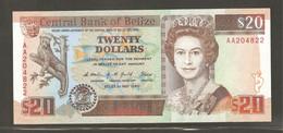 Belize, 20 Belize Dollars, 1990 - Belize