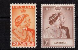 1948 Royal Silver Wedding UMM - Zanzibar (...-1963)