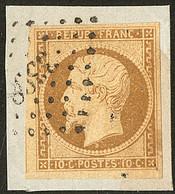 No 9a, Un Voisin, Sur Son Support, Jolie Pièce. - TB (cote Yvert : 950 €) - 1852 Louis-Napoleon