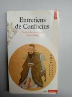 Entretiens De Confucius - Anne Cheng/ Points, 1981 - Psicología/Filosofía