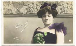 10737   Melle  MARGYL - Spectacle - Artiste De Cabaret -  Photo SAZERAC Paris  -circulée En 1905 - Artiesten