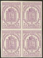 * No 1, Bloc De Quatre, Très Frais. - TB (cote Yvert : 1400 €) - Newspapers