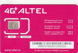 Kazakhstan - Altel 4G - GSM SIM - Mint - Kazakhstan