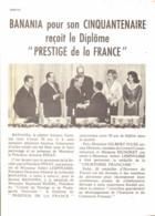 "PUB-REPORTAGE "" BANANIA "" 1960 ( 20 ) - Affiches Publicitaires"