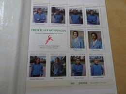 Frisch Auf Göppingen Vignettenbogen 1971/72 Leicht Beschädigt (16349) - Handbal
