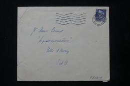 DANEMARK - Enveloppe De Charlottenlund Pour La France En 1950 - L 84817 - Covers & Documents