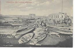 DJIBOUTI   -    CONSTRUCTINS  De  BOUTRES INDIGENES - Djibouti