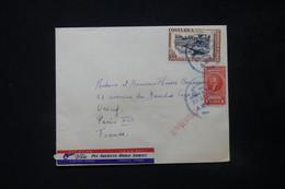 COSTA RICA - Enveloppe De San José Pour Paris En 1950 - L 84821 - Costa Rica