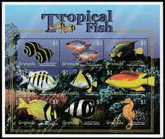 2000Grenada4288-4296KLMarine Fauna10,00 € - Meereswelt