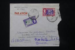 IRAN - Enveloppe De L 'Institut Pasteur De Téhéran Pour Paris En 1951 - L 84825 - Iran