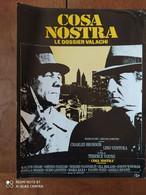 Affiche De Film - COSA NOSTRA Le Dossier Valachi. Charles BRONSON, Lino VENTURA. Film De Térence YOUNG - Posters