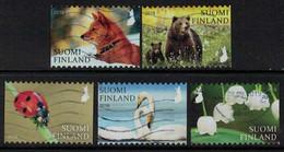 2018 Finland, Nature Signs I, Complete Used Set. - Gebruikt