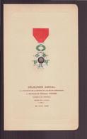 """Menu Déjeuner Amical Remise De La Légion D'honneur Du 20 Juin 1948 """" Hôtel Du Dauphin à Laigle """" - Menus"""