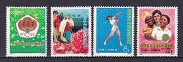 CHINE - CHINA - 1973 - YVERT N° 1883/1886 ** MNH - COTE = 50 EUR - Unused Stamps