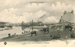 033 602 - CPA - France (18) Cher - Les Rives Du Cher à Vierzon - Vierzon