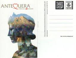 ANTEQUERA-- DOLMENES DE ANTEQUERA -  TARJETA PREFRANQUEADA  TARIFA  A -  NUEVA - 1850-1931