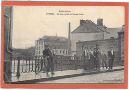 08 RETHEL - Le Quai (prise Du Grand Pont) -  Animée - Rethel