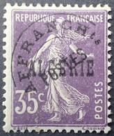 R2062/784 - 1924/1947 - COLONIES FR - ALGERIE - PREO - TYPE SEMEUSE CAMEE - N°7 NEUF* - Unused Stamps