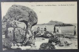 CPA 29 TREBOUL - Les Sables Blancs - Les Rochers Du Coulinec - Collection Carnec 514 - Réf. G 265 - Tréboul