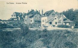 Belgique - La Panne - Avenue Thiriar - De Panne