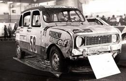 Photo Originale Sport Auto Salon De Grenoble 78/79 Renault 4 L Cross Du Garage Mouchet - Renault Elf - Coches