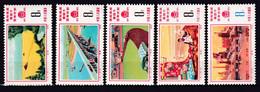 CHINE - CHINA - 1976 - YVERT N° 2006/2010 ** MNH - COTE = 75 EUR - Unused Stamps