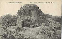 15 - CARLAT - Grottes Préhistoriques De Carlat (impeccable) - Carlat