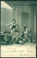 """CARTOLINA - CV431 TOSCANA Costumi Toscani """"Idillio"""", FP Viaggiata 1902, Ottime Condizioni - Zonder Classificatie"""