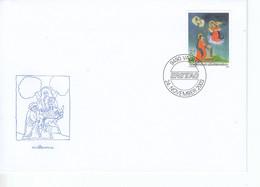 Liechtenstein FDC  ^1330-1332 Weihnachten Katalog 6,00 - Gebruikt