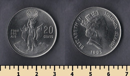 Solomon Islands 20 Cents 1995 - Solomon Islands