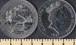 Solomon Islands 1 Dollar 1991 - Solomon Islands