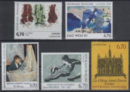 Artistique 1995, La Série Complète ** N°2926, 2927, 2928, 2969, 2972** - Nuovi