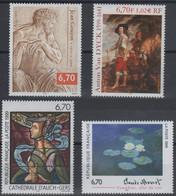 Artistique 1999, La Série Complète** N°3222,3247,3254,3289 - Nuovi
