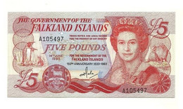 Falkland - 5 Pounds 1993 - Falkland Islands