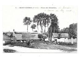 CPA 62 - MONT CAVREL (Pas De Calais) - PLACE DES ETENETTES (Attelage) - Altri Comuni