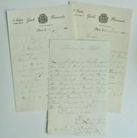 L.A.S. Joseph Rieussec, Lt Colonel, Tué Lors De L'attentat Contre Louis Philippe En 1835 - Autografi