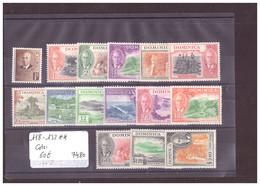DOMINICA - No Michel 118-132 ** ( SANS CHARNIERE ) -     COTE: 60 € - Dominica (...-1978)