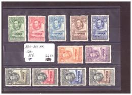 BECHUANALAND - No Michel 101-111 ** ( SANS CHARNIERE )    -     COTE: 85 € - 1885-1964 Protectorado De Bechuanaland