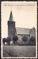 +++ CPA - GHOY - Lessines - Eglise St Médard Et Mémorial Aux Morts Des Deux Guerres - Nels  // - Lessines