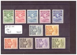 BASUTOLAND - No Michel 18-28 ** ( SANS CHARNIERE )    -     COTE: 90 € - 1933-1964 Colonia Británica