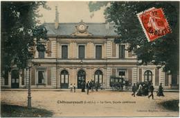 CHATEAURENAULT - La Gare, Façade Extérieure - Andere Gemeenten