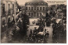 Souvenir Des Fêtes De Mamers En 1913-La Cavalcade-Défilé Des Chars - Mamers