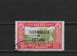 Wallis Et Futuna Yv. 52 O. - Used Stamps