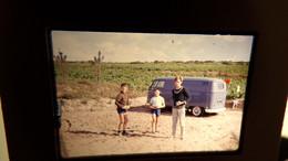 Diapo Vacances Combi 1963 VW Volkswagen - Diapositives (slides)