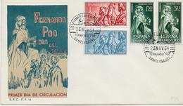 3578   FDC Fernando Poo  Santa  Isabel 1964, - Fernando Poo