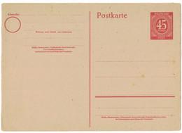 LA843   AllBes. GemAusg. MiNr. P 955, Ungebraucht, Postkarte 1946 - Gemeinschaftsausgaben