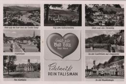 Bad Tölz - Mit Aufklappbarem Leporello - Ca. 1960 - Bad Toelz