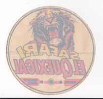 "Autocollant Ancien   Safari  "" El Quexigal ""  Zoo Fermé , Espagne - Stickers"