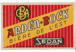 Ancienne étiquette Brasserie GBA à Sedan 08 - Bier