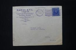 VENEZUELA - Enveloppe Commerciale De Caracas Pour Paris En 1937 Par S/S COLOMBIE - L 84889 - Venezuela